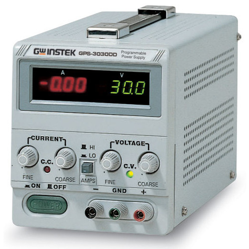 Instek Power Supply Single Output Dual Display GPS-3030DD