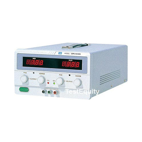 Instek Power Supply, Single Output, DC, Digital, 18V, 20A
