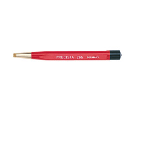 Excelta Brush Scratch Brass 1/8 in. Diameter 4 3/4 in. OAL