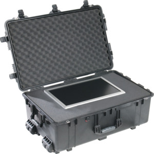 Pelican Case, Protector, Foam Filled, Extend Handle, Wheels