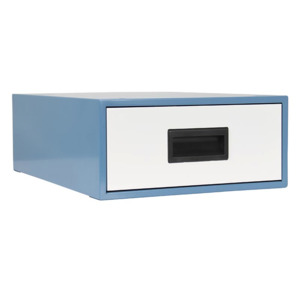 IAC Drawer Assembly Workmaster 6 in.Deep Single Sky Blue