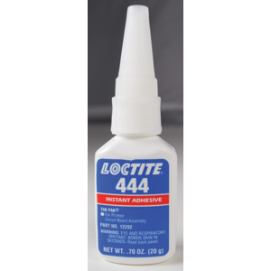 Loctite Adhesive Wire Tacking Tak Pak 444 20 Gram Bottle
