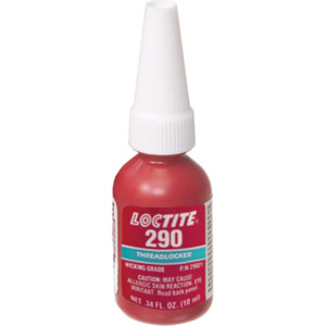 Loctite Threadlocker 290 10 ml Wicking Grade/Med Strength