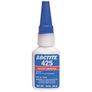 Loctite Threadlocker Adhesive, Assure 425, Surface Curing