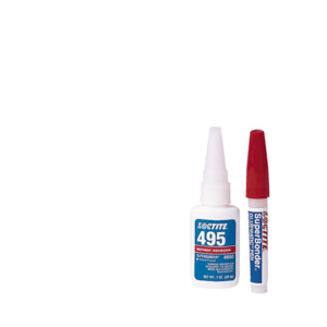 Loctite Instant Adhesive, Super Bonder 495, 1 oz. Bottle