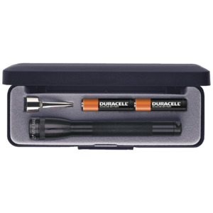 Mag-Lite Flashlight, Mini Case, AAA Batteries, 5 in.