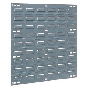 Akro Mils Panels, Louvered Bin Rack, 18 in. L x 19 in. H