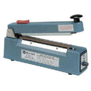 AIE Hand Sealer, Impulse, Seal Length: 8 in., w/o Cutter