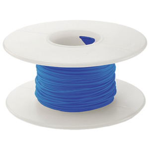 OK Ind Wire Roll, Insulated, Kynar, 30 AWG, Red, 100 ft.