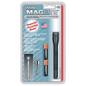Mag Mini Maglite AAA Flashlight Black