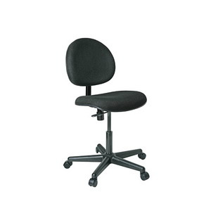 Bevco Chair, Value-Line, Fabric Seat, Carpet Casters