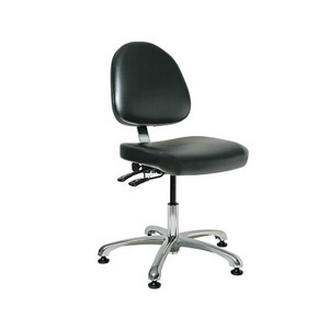 Bevco Chair Class 100 Cleanroom, 15.5 in.-21 in.  Height - Adjustable