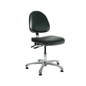 Bevco Chair Class 10000 Cleanroom Tilt 17 in.-22.25 in.  Height - Adjustable