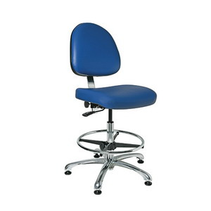 Bevco Chair Class 10000 Cleanroom No Tilt 20-27.5 in. Adjustable