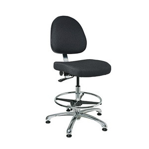 Bevco Chair,Integra-E Deluxe No Tilt, 19-26.5 in.  Height - Adjustable, Std