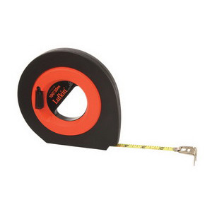 Lufkin Tape Measure Speed- winder 3/8 x 100 ft. Hi-Viz