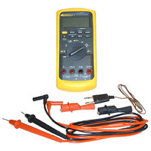 Fluke 87-5 Digital Multimeter, TRMS, Temp, Calibrated W/ Dat