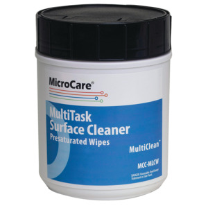 MicroCare Wipes Presaturated Economy Mild 100/Tub