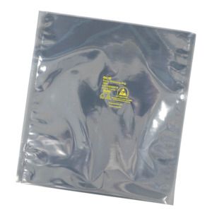 SCS 1000 Static Shielding Bag, 18 x 24 in., Metal-In, Flat Top