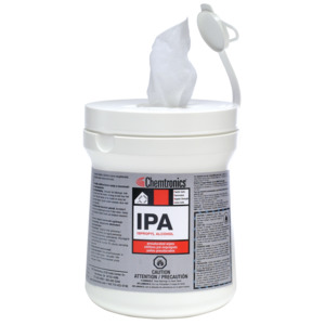 Chemtronics Presaturated Wipe, IPA, 6