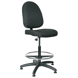 Bevco Integra Chair, Large Back Adjustable, Footring, Mushroom Glides