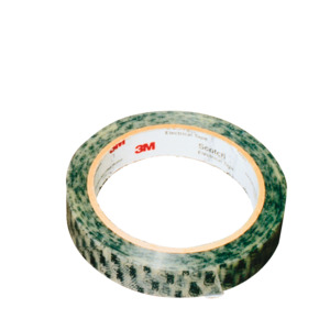3M Anti-Static Tape, 40PR, Printed, 2 x 72 Yds, 3 in. Core