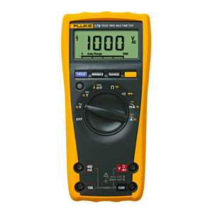Fluke 179 Digital Multimeter, 1000V,Temperature,Cal w/o Data