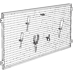 Production Basics Peg Board 18 in.H x 60 in.W