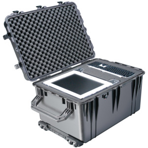 Pelican Case Protector Foam Filled Extend Handle & Wheel