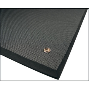 Techni-Stat Floor Mat Anti- Fatigue 2 ft.X3 ft.X3/8 in. Gray Pbl.