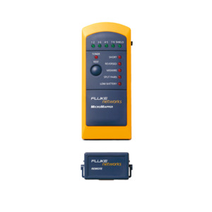 Fluke Networks MT-8200-49A, Wiremap Checker, Micromapper