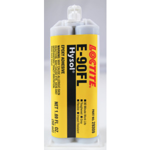 Loctite Hysol E-90FL Epoxy Adhesive, 50 ml Dual Cartridge