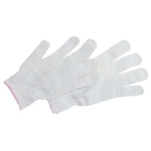 QRP Gloves Knit-Stat Anti- Static Lint Free Nylon/Carbon L