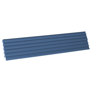 IAC Bin Holder, Multi-Rail,34 in. For 72 in. Mts, Std, Eze Blue