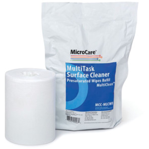 MicroCare Wipes Presaturated Economy Mild 100/Pack Refill
