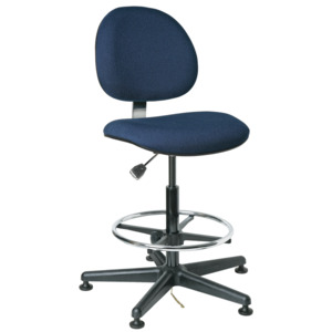 Bevco V8 Series ESD Value-Line Chair w/Mushroom Glides 20-27.5 in.