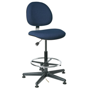 Bevco V8 Series ESD Value-Line Chair Mushroom Glides 23-33 in. Adjustable