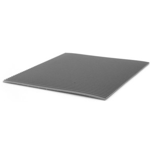 Techni-Stat Floor Mat Anti- Fatigue 3 ft. x 60 ft. x 1/8 in. Gray