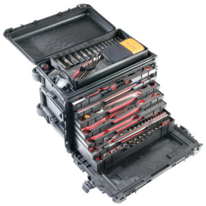Pelican Case Mobile Tool 0450 20.56x10.94x12.65 W/Drawers