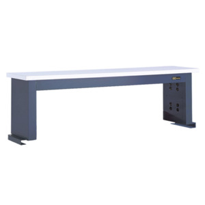 IAC Instrument Shelf Workmstr 60 x 18 x 15 in. ESD Eze Blue