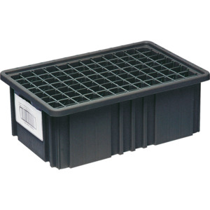 Quantum Bin, Conductive, 16.5 x 10 7/8 x 3.5 in. Dividable