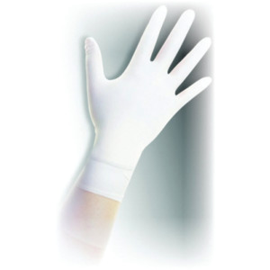 QRP Gloves Qualatrile XC White Nitrile 9 in. Cleanroom Medium