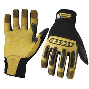 Ironclad Gloves Ranchworx S Black/Tan Pair