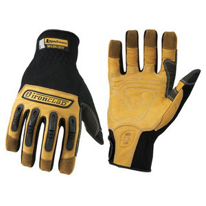 Ironclad Gloves Ranchworx XL Black/Tan Pair