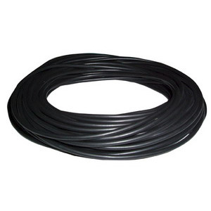 Pomona PVC Lead Wire, Black, 50 ft. OAL, 18 AWG