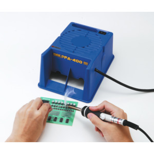 Hakko FA-400 Smoke Absorber; 2-Way Bench-Top,  ESD-Safe
