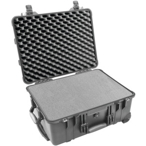 Pelican Case, Protector, Foam Filled Extend Handle & Whe