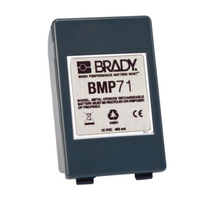Brady Battery Pack, For BMP71 Label Printer