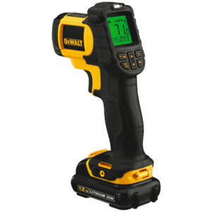 DeWalt IR Thermometer Kit, 12v Max, Li-Ion