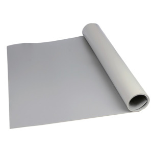 SCS Mat 3 Layer Vinyl Roll Dissipative Gray 3 ft.x 50 ft.